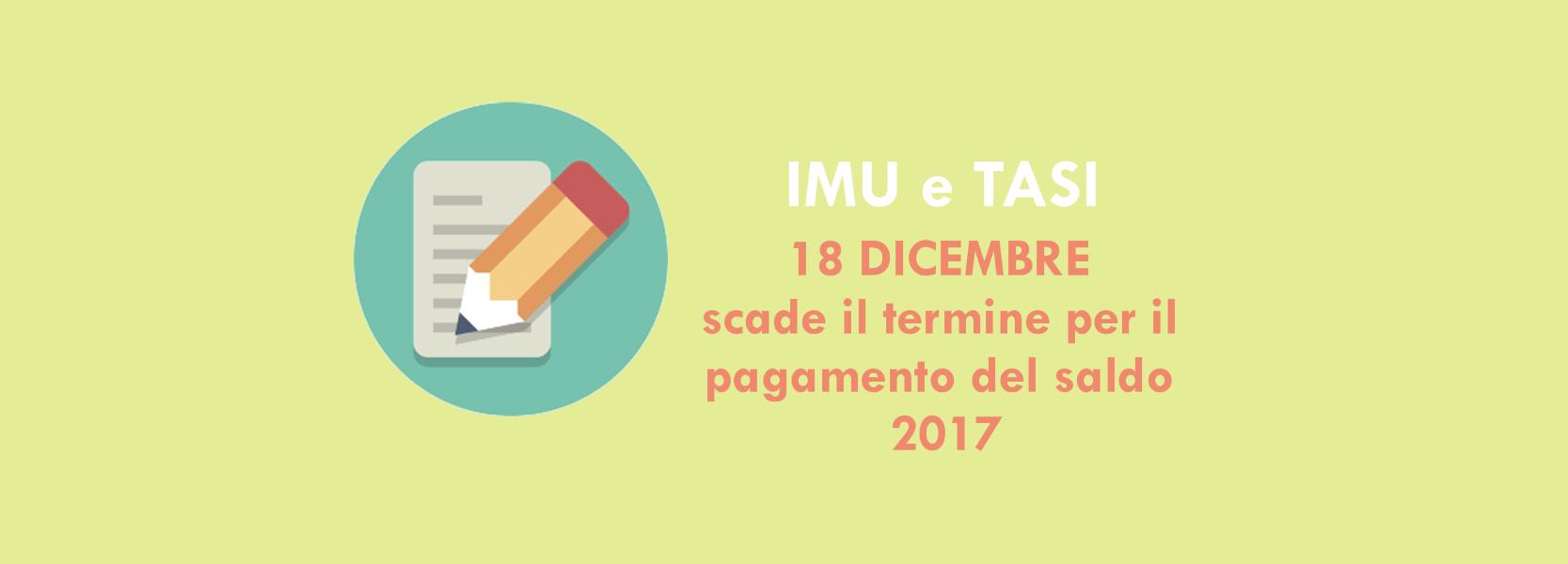scadenza imu tasi 2017 termine ultimo ed esenzioni caf